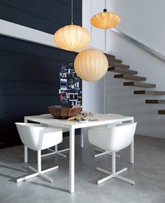 dining table modern interior design small apartment
