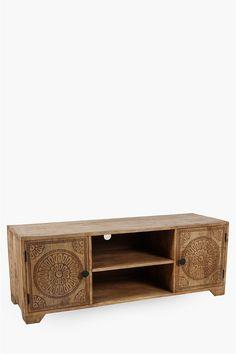 Sambisa Plasma Unit - Shop New In - Furniture - Shop Solid Wood Furniture, Large Furniture, New Furniture, 2nd City, Media Stands, The Unit, Living Room, Shop, Home Decor