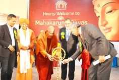 Minister for Finance Dr Haseeb Drabu and Minister for Ladakh Affairs Chering Dorjay lighting a traditional lamp.