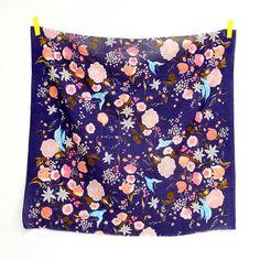 Nani Iro Kokka Fuccra  rakuen Japanese Fabric  by MissMatatabi, $9.00