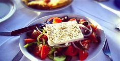 Horiatiki Greek salad