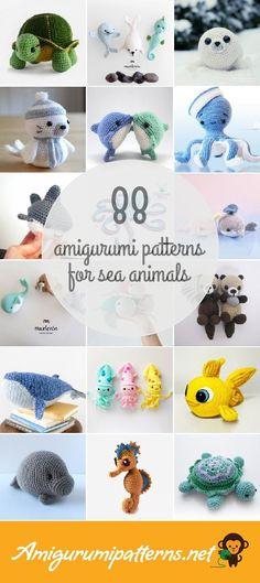 Amigurumi Patterns For Sea Animals