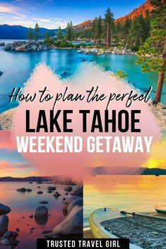 48 Hour Guide: Summer Adventure in Lake Tahoe — Trusted Travel Girl - Lake Tahoe is an amazing place to visit anytime of the year. Check out my Lake Tahoe travel guide for what not to miss during a Tahoe weekend getaway. Cool Places To Visit, Places To Travel, Places To Go, Us Travel Destinations, Vacation Resorts, Vacation Spots, Vacations, Weekender, Alaska