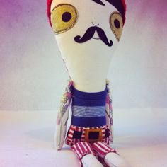 What a cutie!  Monsieur Pirate Pants from Kleja