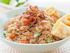 Nasi Goreng - Indonesian Fried Rice from the ever reliable Cook's Illustrated.