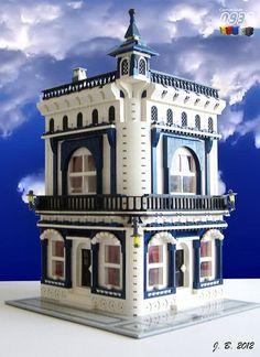 LEGO Moc Modular Pip's Corner