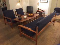 Sven Ivar Dysthe Model 1001 for Dokka around Modern Furniture, Furniture Design, Mid-century Modern, Modern Design, Scandinavian, Accent Chairs, Interior Decorating, Art Deco, Mid Century