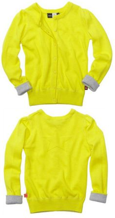 Molo Gina cardigan in Lemon Sour with silver thread £31.95 wear with flamingo or sunflower ranges