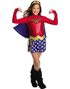 Rubie's Costume Girls DC Comics Wonder Costume