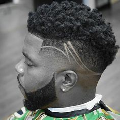The top short hairstyles for men for the year 2018 are eye-catching and somewhat sophisticated. Today the short mens hairstyles have become particularly. Black Men Haircuts, Black Men Hairstyles, Boy Hairstyles, Hair Designs For Boys, Haircut Designs For Men, Hair And Beard Styles, Curly Hair Styles, Haare Tattoo Designs, Beard Cuts