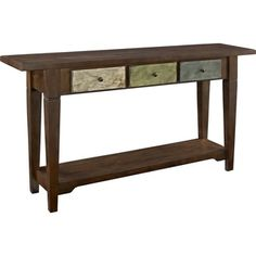 Altra Hand-painted Sage Console Table and Drawers - Overstock™ Shopping - Great Deals on Altra Coffee, Sofa & End Tables