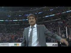 Teemu Selanne Tribute in Los Angeles - NHL News Videos Hockey News, Nhl News, Anaheim Ducks, Story Video, World, Videos, Youtube, Number, Game