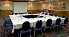 Yellowhead Inn - Jaffer Boardroom - VenueJar.com Our Jaffer Boardroom is quiet, discreet, and easily positioned to host a catered lunch meeting or presentation, with a capacity of up to 40 people.