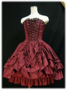 Another adjustable dress. This one looks kinda romantic to me.