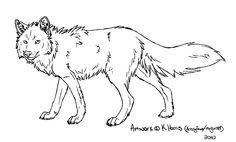 Wolf Template by Krissyfawx