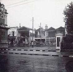 World War II – bomb damage Market Place, Bexleyheath 1939-1945