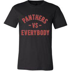 PANTHERS VS Everybody (Clark Atlanta inspired - red)