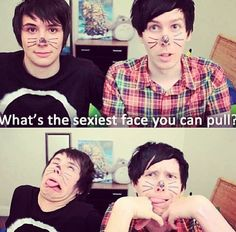 Danisnotonfire Dan Howell YouTube Phil Lester Amazingphil
