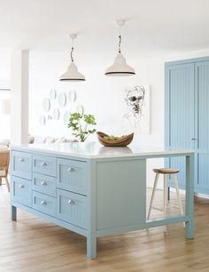 Coastal Style: Coastal Kitchen