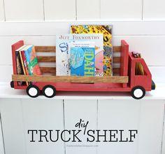 Truck Shelf or Desk Organizer | Knock-Off Wood | Bloglovin'
