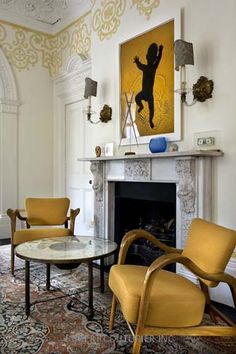 Wall art / interior design Robert Couturier