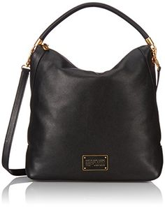 Marc by Marc Jacobs New Too Hot To Handle Hobo Bag Black One Size >>> Learn more by visiting the image link.