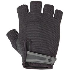 Harbinger Power Non-Wristwrap Weightlifting Gloves with StretchBack Mesh and Leather Palm (Pair), Black, Large, Large (Fits 8 - Inches) Gym Gloves, Workout Gloves, Mens Gloves, Boxing Gloves, Workout Gear, Lee Haney, Gym Workouts For Men, Fun Workouts, Power Glove