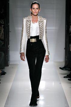 Balmain spring 2012 ready-to-wear #collection #balmain