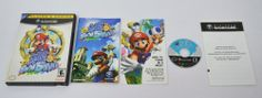 Super Mario Sunshine - Nintendo Gamecube - Black Label - Complete