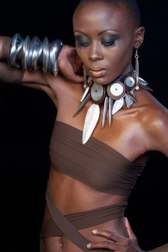 African Inspired Jewelry & Fashion.