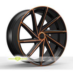Rosso Insignia Black Copper Wheels For Sale & Rosso Insignia Rims And Tires
