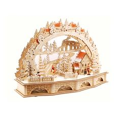 Shop for Illuminated Wooden Christmas Village. Get free delivery at Overstock.com - Your Online Christmas Store Store! Get 5% in rewards with Club O!