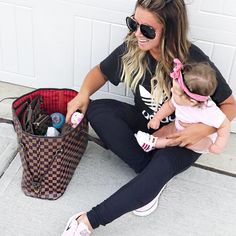 eae32ef31d57 Use your LV as a diaper bag - with our Luxe Red to match the inner