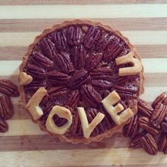 Pecan coffee pie