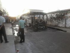 TV Badalo Ceará: Homens incendeiam ônibus e fogem