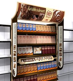 Shop-in-shop chocolats