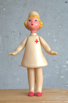 Very Rare Vintage Collectible USSR Toy Nurse. $65