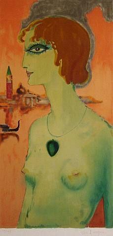 by Kees van Dongen (Dutch, 1877–1968) Portrait of Marchesa Casati
