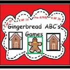 FREEBIE!  Use this gingerbread themed file to help your students practice recognizing capital and lowercase letters as well as producing the consonant and vo...