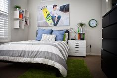 love the green rug - henry's room?