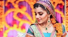 Brides Mehndi Mayon Colorful Dresses Style Trend