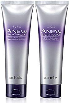 Avon Anew Platinum Cream Cleanser Lot Of 2 Review Avon Anew Platinum Avon Anew Cream Cleanser