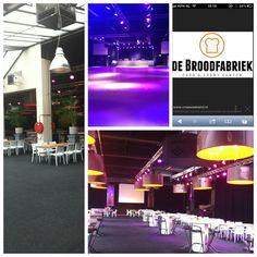 """Www.de-broodfabriek.nl heeft grote zalen maar met 6 opblaasbare """"iglo"""" workshop zalen genoeg!"""