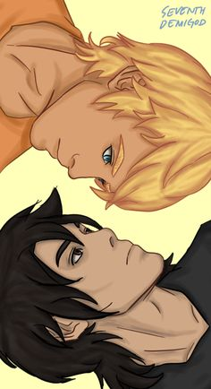 Will Solace and Nico di Angelo Solangelo: Opposites attract Solangelo, Percabeth, Apollo Percy Jackson, Clever Captions, Will Solace, Percy Jackson Characters, Trials Of Apollo, Rick Riordan Books, Opposites Attract