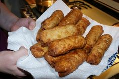 Forget take-out! This recipe is for crispy, golden, delicious fried egg rolls that are easy to make at home.