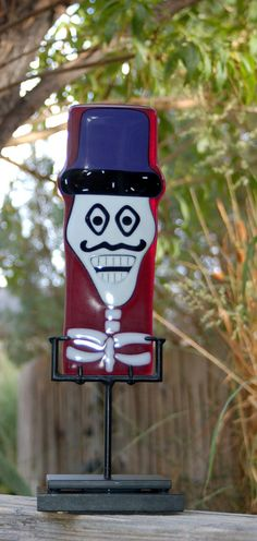 Ringmaster  Day of the Dead sculpture by KarlaElyGlass on Etsy