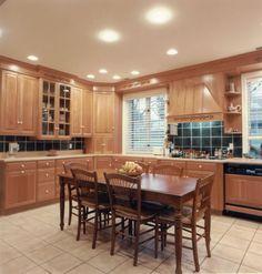 small kitchen lighting layout Photo Courtesy Of LEDingthelife