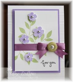 Best Blossoms.. by sparklegirl - Cards and Paper Crafts at Splitcoaststampers