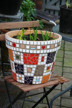 Mosaico estilo gaudi