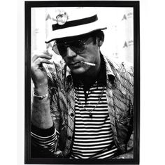 Hunter Stockton Thompson (July 18, 1937 – February 20, 2005) was an American journalist and author.Thompson became known internationally with the publication of Hell's Angels: The Strange and Terrible